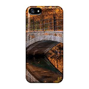 Tpu Case Cover Compatible For Iphone 5/5s/ Hot Case/ Reflected Bridge