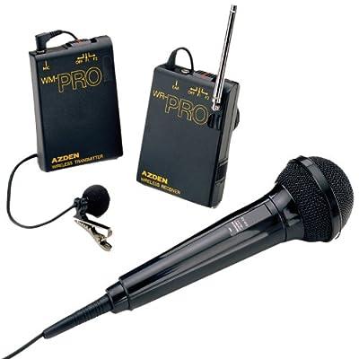 Azden WMS-PRO Wireless Microphone System by AZDEN