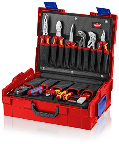 "Knipex 00 21 19 LB E""L-Boxx Electric"" Tool Box (65 Piece)"