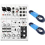 yamaha ag06 mixer - Yamaha AG06 6-Channel Mixer and USB Audio Interface Bundled with Two 15' XLR Cables