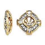 Top 10 Jewelry Gift 14k Diamond Earring Jacket