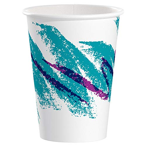 (Solo 412JZ-00055 12 oz Jazz SSP Paper Hot Cup (Case of 1000))