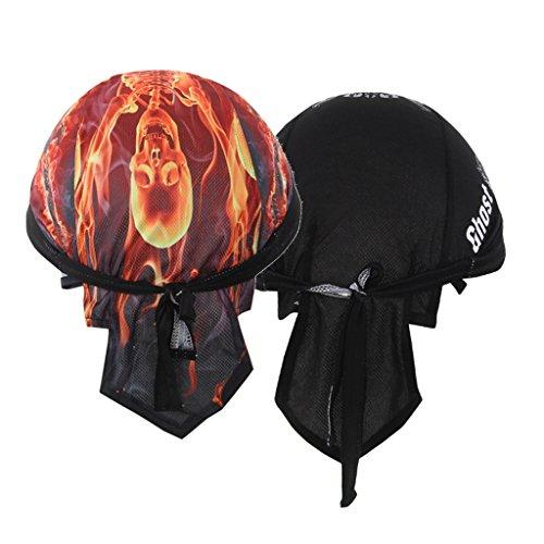 協定はい驚いたSunniMix インナーキャップ 海賊スカーフ 帽子 サイクリング ヘルメット スポーツ アウトドア 通気 速乾 吸汗 四季通用