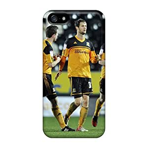 New Myk8191NLVr Beloved Fc Hull City Skin Cases Covers Shatterproof Cases For Iphone 5/5s