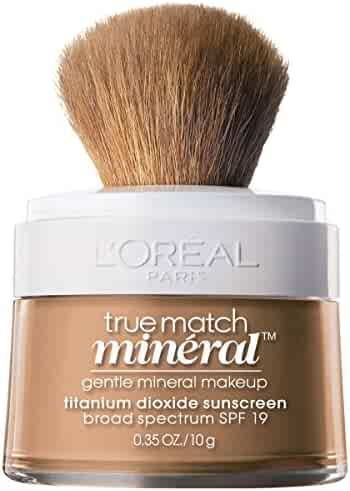 L'Oreal Paris True Match Mineral Foundation, Creamy Natural, 0.35 Ounce