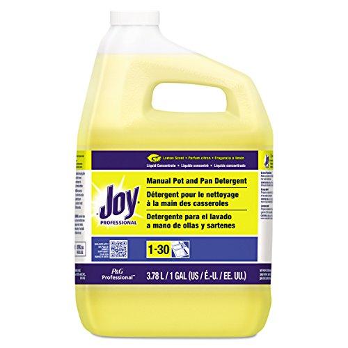 Joy Professional Pot and Pan Detergent, Lemon Scent, 1 Gallon (Case of (Joy Dish Soap)