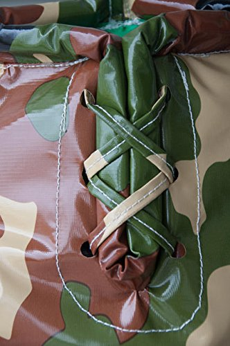 Giant Boxing Gloves for Bounce House Inflatables, Commercial Quality Low Density Foam and Double Stitched Vinyl, Replacement for Interactive Inflated Boxing Ring (Green and Brown Camo Pair) by TentandTable (Image #5)