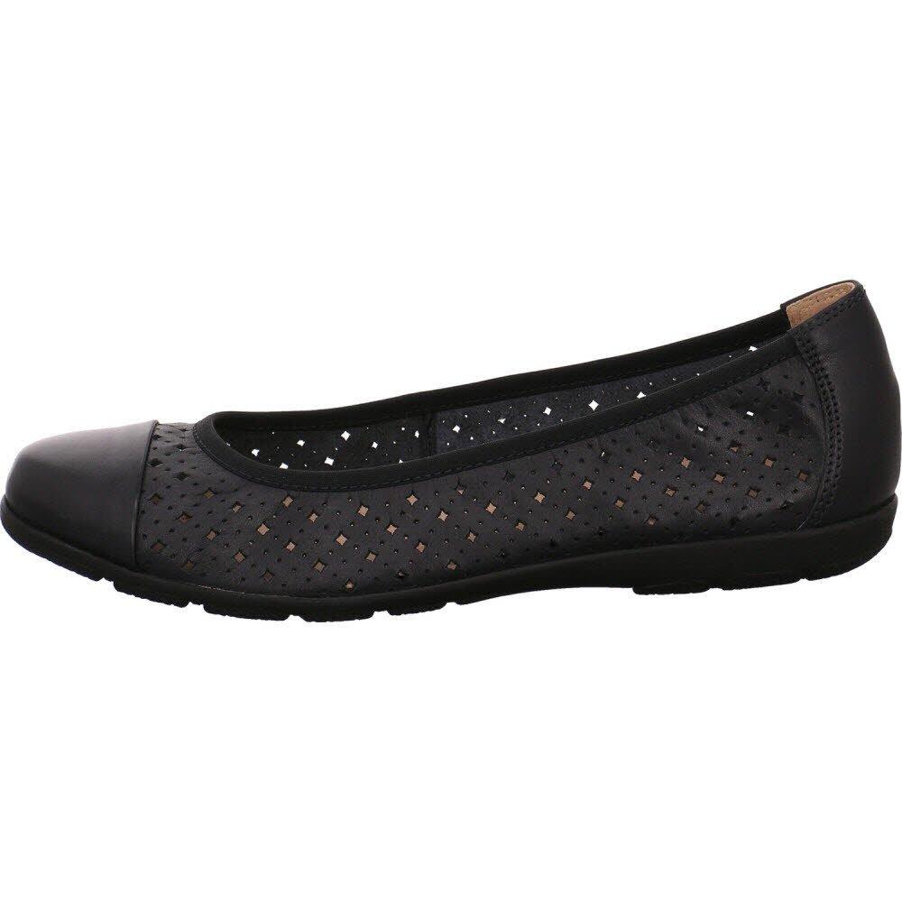 Caprice Damen Damen Caprice 22107 Geschlossene Ballerinas, Ocean Nappa 9616d4