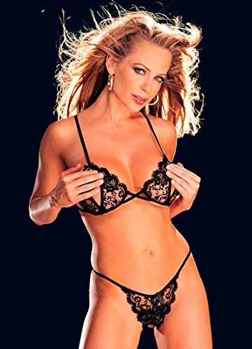 c9987d9eeef Amazon.com  Shirley of Hollywood Risque Collection Wireless Bra ...