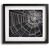 Spiderwebs | No Doubt inspired song lyric art print and modern Halloween decor