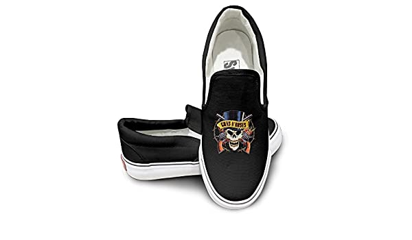 4aadd9098cd1 Lovely Cheap Guns N  Roses Axl Rose Slash Duff McKagan Skate Shoe Cozy Wear  Skid Without Lacing  Amazon.ca  Shoes   Handbags