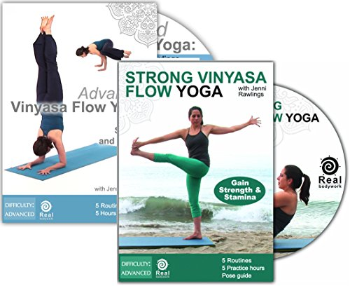 Strong & Advanced Vinyasa Flow Yoga with Jenni Rawlings - 2 DVD Set (Vinyasa Yoga Advanced compare prices)