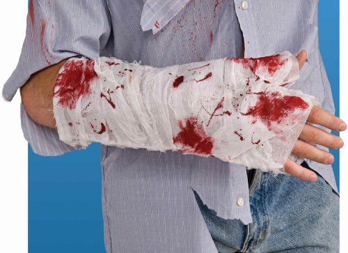 Bloody Bandages Halloween (Bloody Arm Bandage [Apparel])
