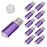 KOOTION 10pcs USB 2.0 Flash Drive10 Pack usb flash drive Memory Stick Thumb Storage Pen Disk 1GB