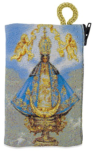 - Venerare Embroidered Rosary Pouch (Small, Holy Infant of Prague)