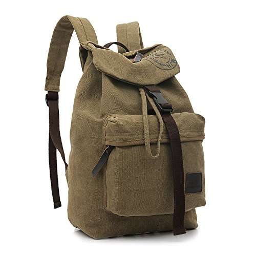 Hombres bandolera port¨¢til grande viaje bolso de la lona , army green Khaki