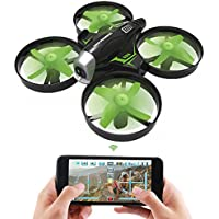 NiGHT LiONS TECH N630 2.4GHz 4CH 6 Axis Gyro RC Quadcopter with HD WiFi Camera APP Control Drone