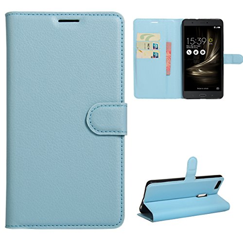 TOTOOSE Asus ZenFone 3 Ultra ZU680KL Case, Leather Case Retro Multifunction Leather Wallet Case Cover [ Kickstand ] Pu Leather Wallet Case ID & Credit Card Slot Asus ZenFone 3 Ultra ZU680KL (Case Cover A517)