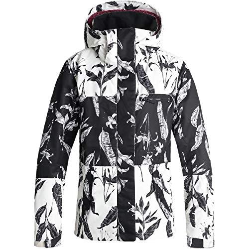 Roxy Womens Jetty Block - Snow Jacket - Women - Xs - Black True Black_Love Letter Xs (Black Roxy Ski Jacket)