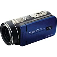 Bell+howell(r) Dv20hdz-Bl 20.0-Megapixel 1080p Ultra-Zoom Camcorder (blue) 4.10in. x 7.30in. x 5.60in.