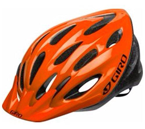 Adult Bike Helmet Giro Indicator (Orange Flame Fade)