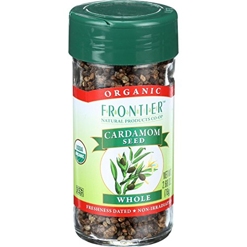 Frontier Herb Cardamom Seed - Organic - Whole - Decorticated - 2.68 oz by Frontier