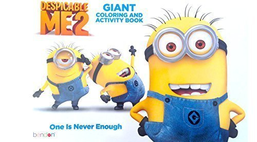 Despicable Me 2 Giant Coloring and Activity Book ()