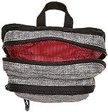Herschel Form Cross Body Bag, Raven Crosshatch, Large