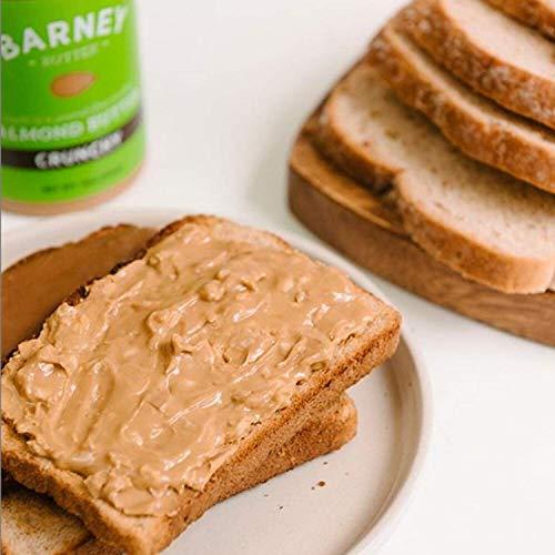 BARNEY Almond Butter, Crunchy, Paleo Friendly, KETO, Non-GMO, Skin-Free, 16 Ounce 3