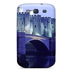 First-class Case Cover For Galaxy S3 Dual Protection Cover Medieval Castle