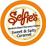 Selfie's Singles Sweet and Salty Caramel Single Cup Coffee, 24 Count for Keurig K-cup Brewers
