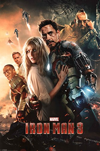 Iron Man 3 Superhero Movie Film Marvel Comics Poster