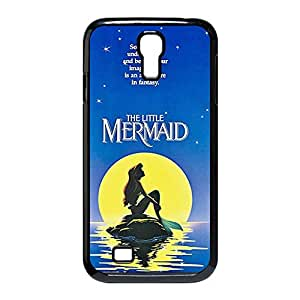 Custom Personalized Damage Proof Back Case Cover with The Little Mermaid for Samsung Galaxy S4 I9500 -Black042812 by icecream design