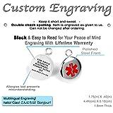My Identity Doctor Custom Medical Alert Bracelet