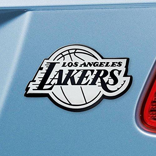 - FANMATS NBA Los Angeles Lakers Chrome Team Emblem