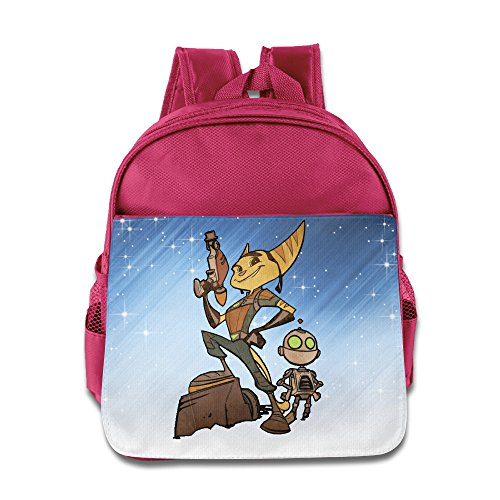 D2 Cute Ratchet Go Backpack For 3-6 Years Old Boys Pink Size One Size