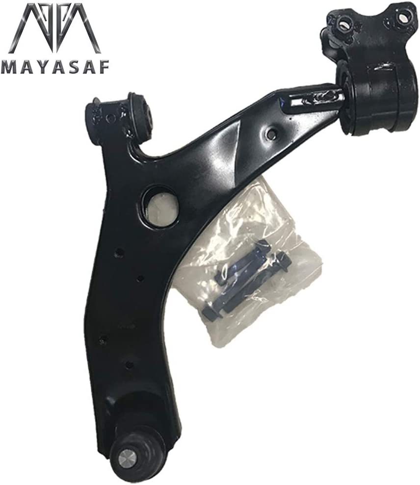 MAYASAF B32H-34-350 Front Lower Control Arms /& Ball Joint Replacement Suspension Control Arm Driver Side for Mazda 3 2.0//2.3L Mazda 5 2.3//2.5L
