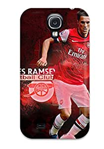 Excellent Galaxy S4 Case Tpu Cover Back Skin Protector Aaron Ramsey