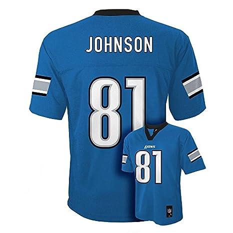 2c42135fd Image Unavailable. Image not available for. Color  Detroit Lions Calvin  Johnson Jersey ...