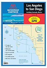 MAPTECH Los Angeles to San Diego Waterproof Chartbook has 31 pages of full-color, detailed navigation charts covering The Pacific Coast from Santa Monica Bay south to Ensanada, Mexico including Santa Catalina Island. Features include Waterpro...