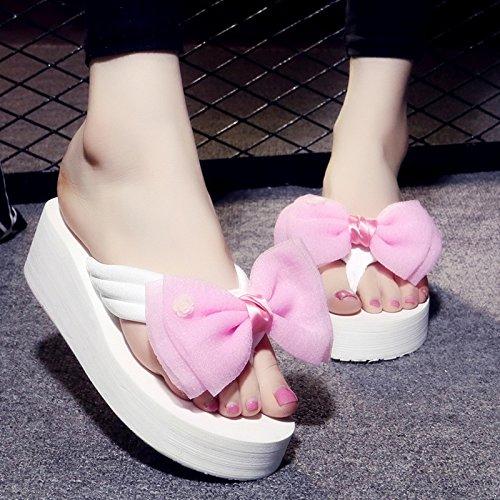 Tacchi Pantofole Sandali Molti Spesse Haizhen Le Slitta A Colori Donne 34 E Pattino Scarpe 1004 Spiaggia colore Per Donna Alti Da Moda Con 1003 Dimensioni Piste OwOrqZI