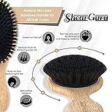 Boar Bristle Detangling Hair Brush- Natural