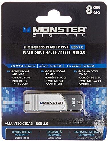 Monster Digital 8GB USB 2.0 High Speed Flash - Monster Usb Flash Drive