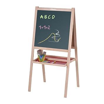Aibecy plegable niños madera arte pizarra pizarra blanca ...