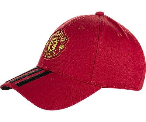 Manchester United Fashion - adidas FC Manchester 3 Stripe Strapback