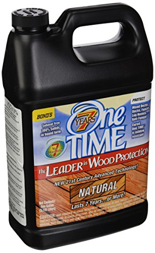 BOND DISTRIBUTING LTD 00200 00200 Gallon Natural Wood Stain/Sealer, 4 g (Best Wood Stain And Sealer)