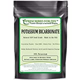 Potassium Bicarbonate - Natural USP Food Grade Crystalline Powder - 99.63% Alkalinity 1 lb