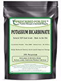 Potassium Bicarbonate - Natural USP Food Grade Crystalline Powder - 39% K, 25 lb