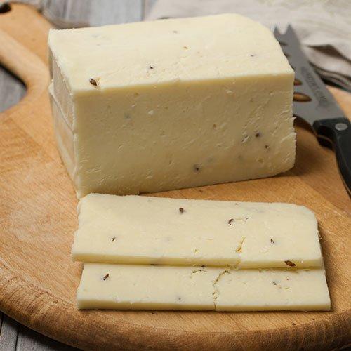 Cream Havarti - Pound Cut - Caraway (1 pound) 1 Lb Cream Cheese