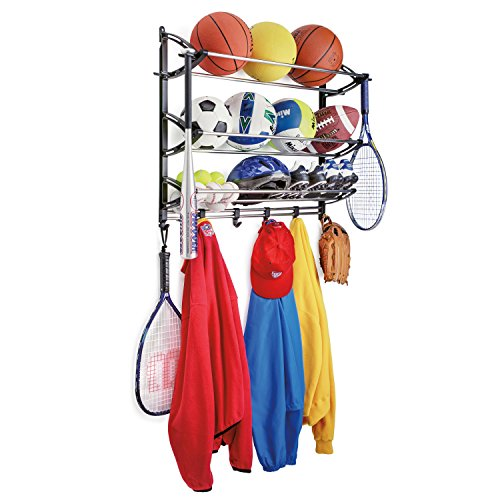 Lynk Sports Rack Adjustable Hooks